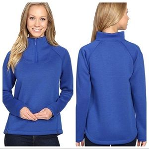 The North Face thermal 3D blue pullover XS